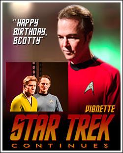 Happy Birthday Scotty poster