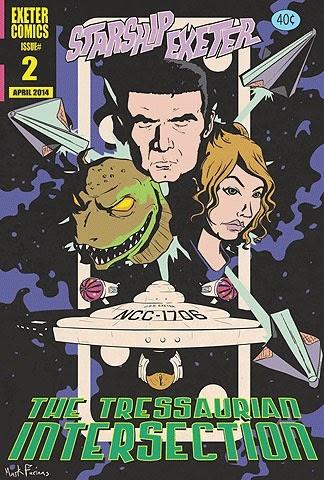 Tressaurian comic poster